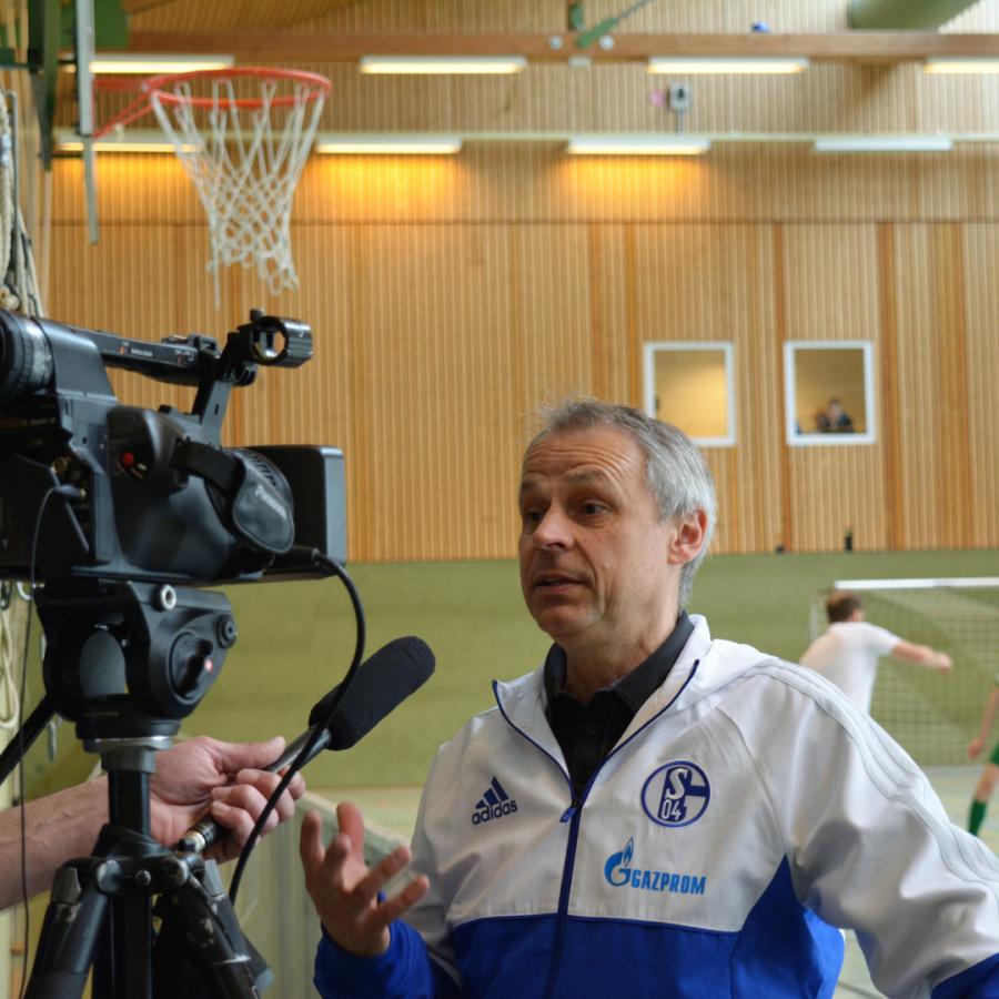 Interview mit Fußballweltmeister Olaf Thon ©by Michael H. Schmitt