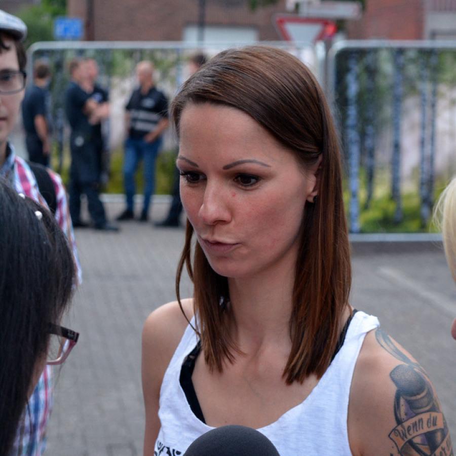 Christina Stürmer Backstage